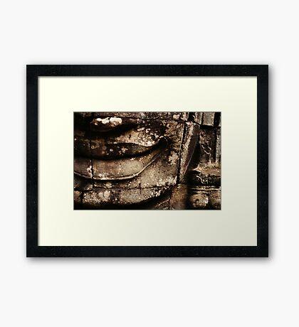 Smirk Framed Print