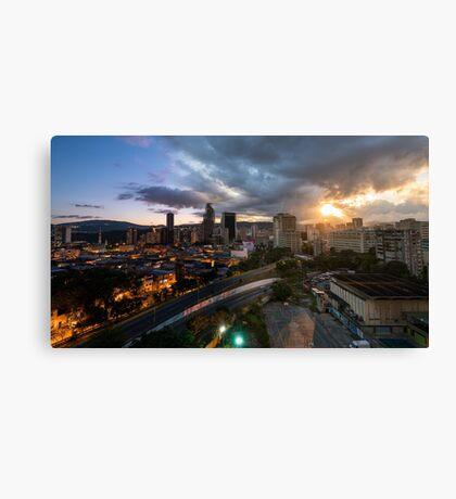 Caracas Skyline Canvas Print