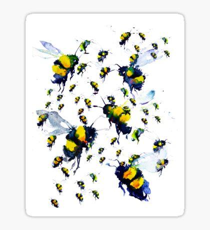 BAANTAL / Pollinate / Bees Glossy Sticker