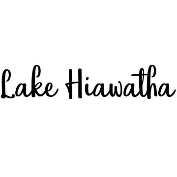 Lake Hiawatha by gmittenz