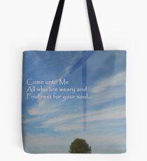 Come Unto Me Tote Bag