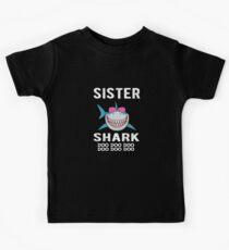 Camiseta para niños Regalo para hermana Shark Family Shark Matching