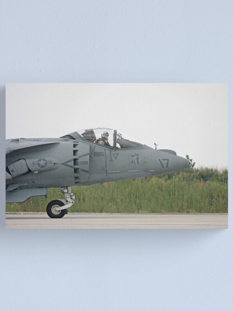 Alternate view of Harrier Canvas Print