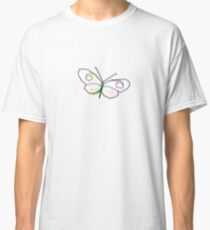 Wire Butterfly Classic T-Shirt