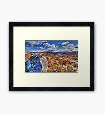 Quinag  Nedd Framed Print