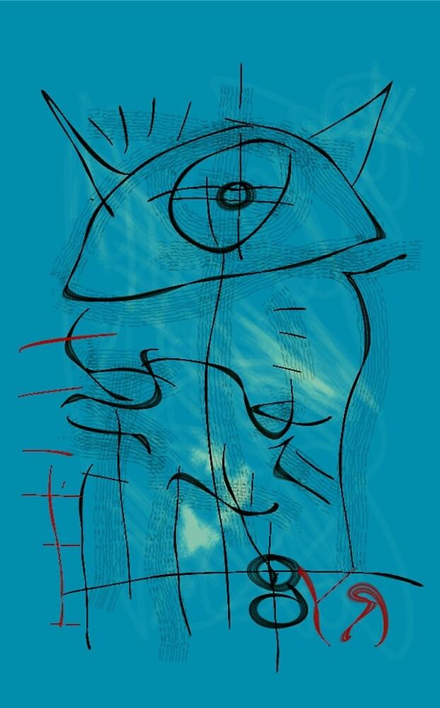 """Alien Messenger"" by Richard F. Yates by richardfyates"