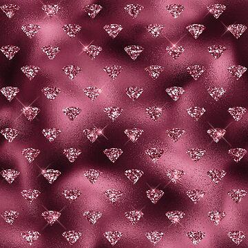 Burgundy Diamond Gems by 4Craig