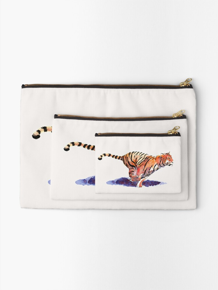 Alternate view of The Tiger Zipper Pouch
