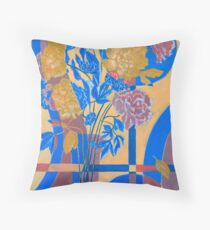 Bouquet of Peonies. Throw Pillow