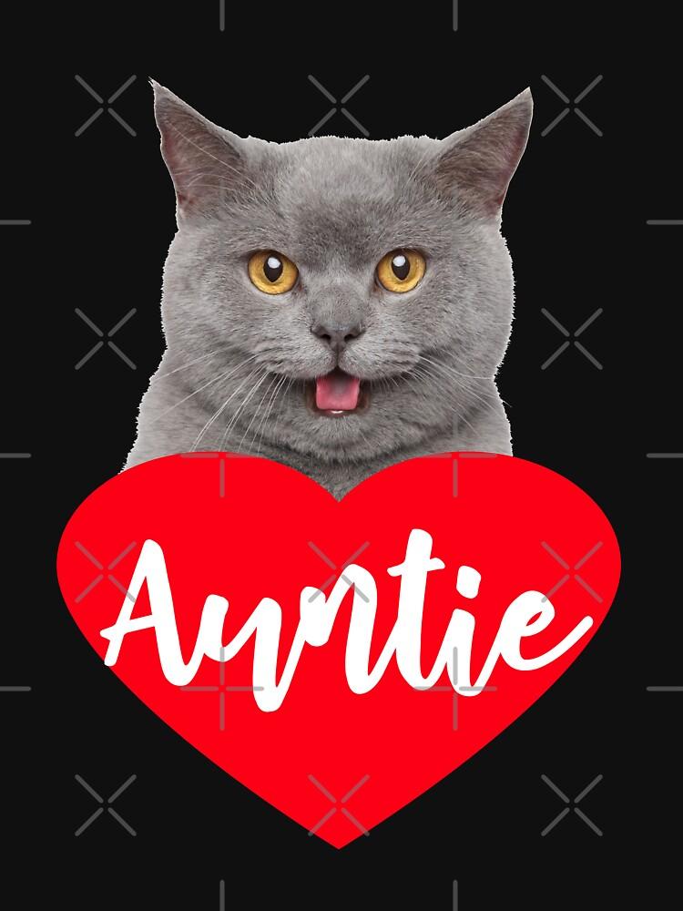 Cat Lover Auntie  by Teeshirtrepub