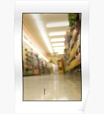 Grocery Store Shopper Poster