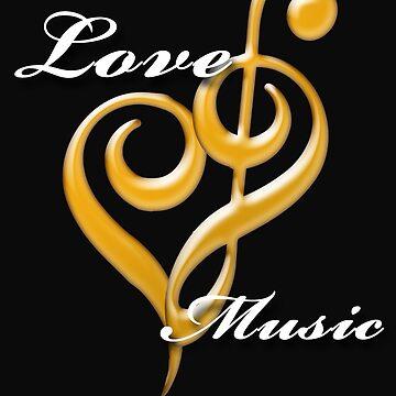 MUSIC KEY ORCHESTRA JAZZ MELODY LOVE by fatshirt