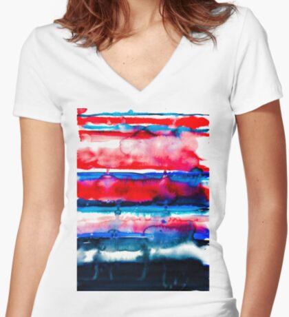 BAANTAL / Lust Fitted V-Neck T-Shirt
