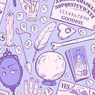 Divination in Pastel Purple by Paisley Hansen