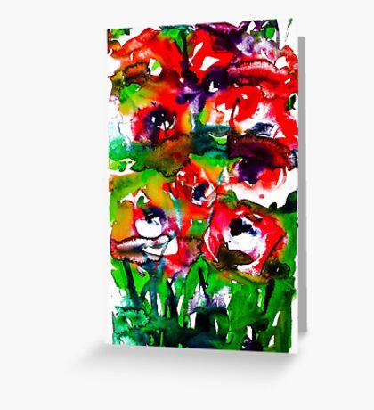 BAANTAL / Pollinate / Lust #2 Greeting Card