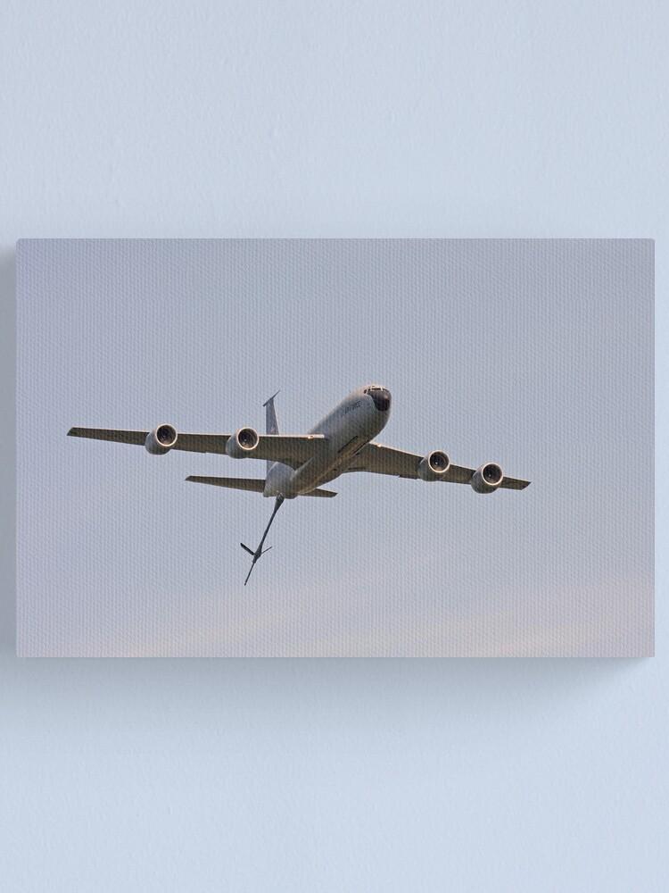 Alternate view of KC-135 Stratotanker Canvas Print
