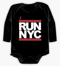 Run NYC Baby Body Langarm