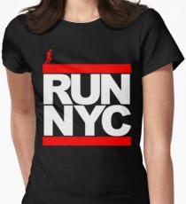 Camiseta entallada para mujer Run NYC