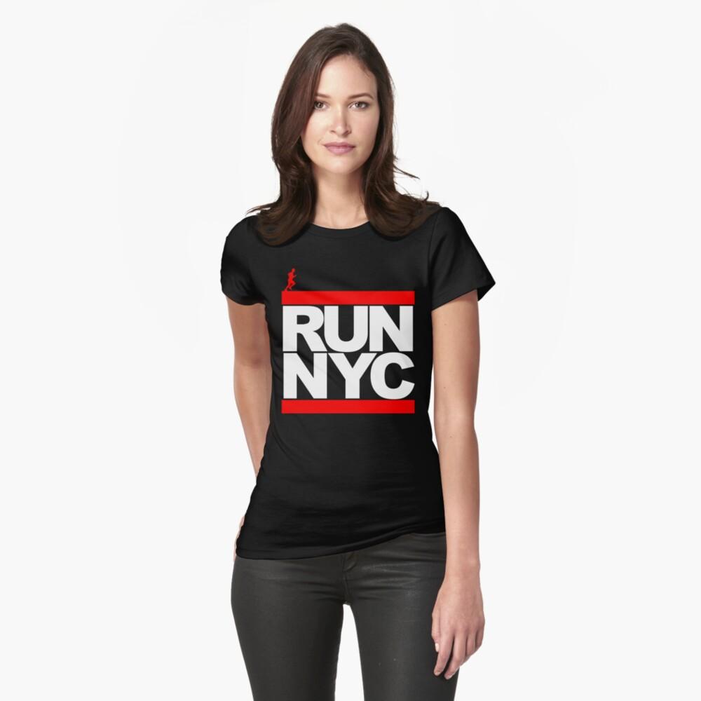 Camiseta para mujerRun NYC Delante