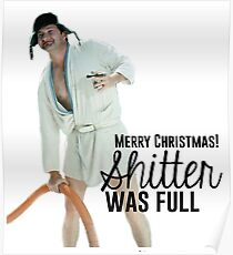 Cousin Eddie: Merry Christmas Poster