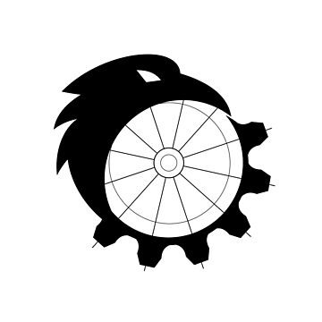 Raven Merging to Cog Icon by patrimonio