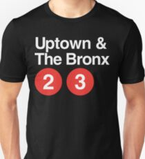 Uptown & The Bronx Unisex T-Shirt