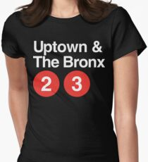 Uptown & The Bronx Women's Fitted T-Shirt