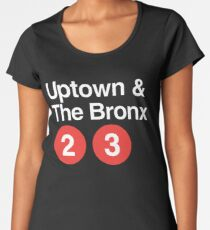 Uptown & The Bronx Women's Premium T-Shirt