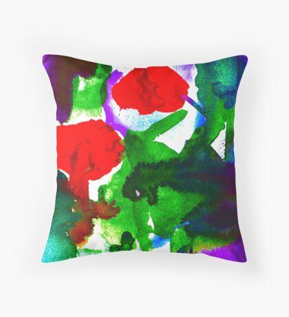 BAANTAL / Pollinate / Evolution #2 Throw Pillow