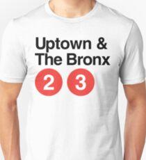 Camiseta unisex Uptown y el Bronx