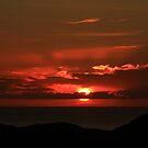 Sunset  Stoer  by Alexander Mcrobbie-Munro