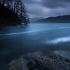 blue hour, loch lomond by codaimages