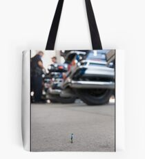 Police Officer at The Democratic National Convention Tote Bag