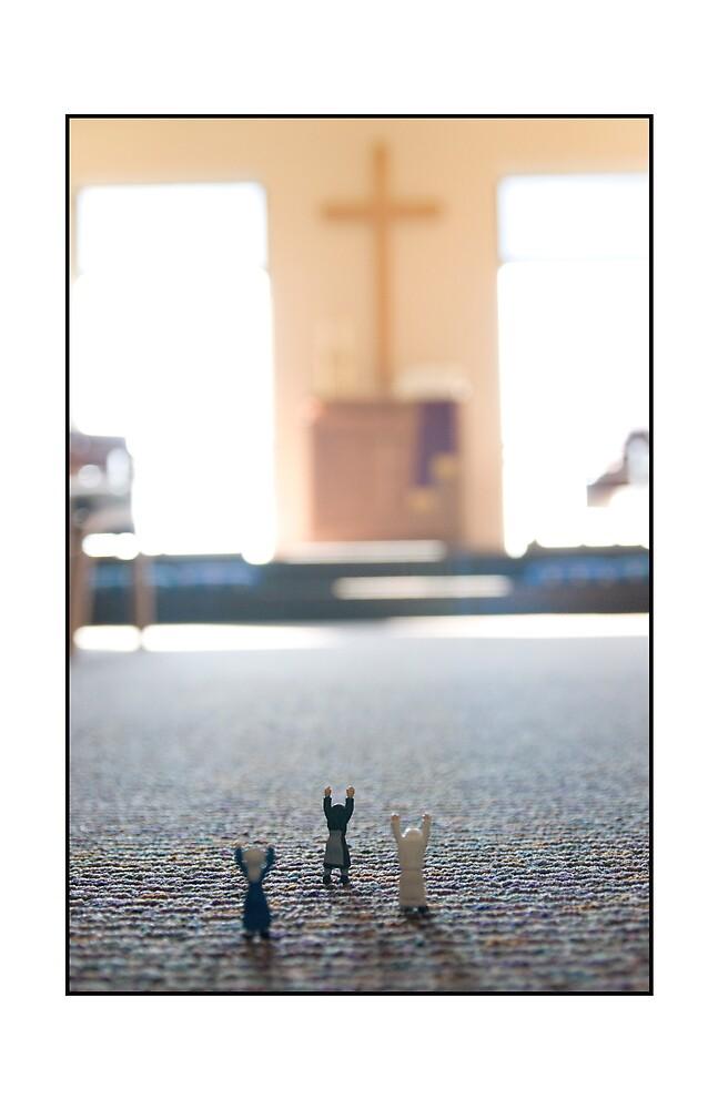Nuns Praying by Matthew Osier