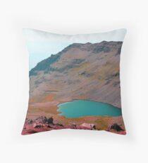 Wild Horse Lake - Steens Mountains Oregon Throw Pillow