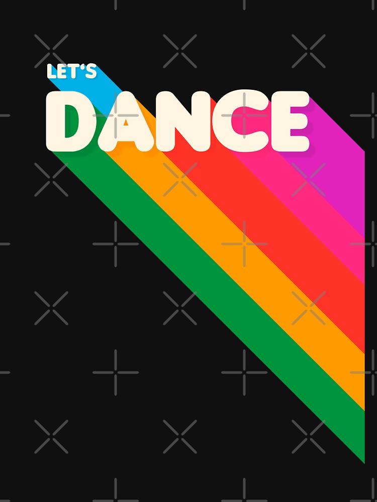 Rainbow dance typography by ShowMeMars