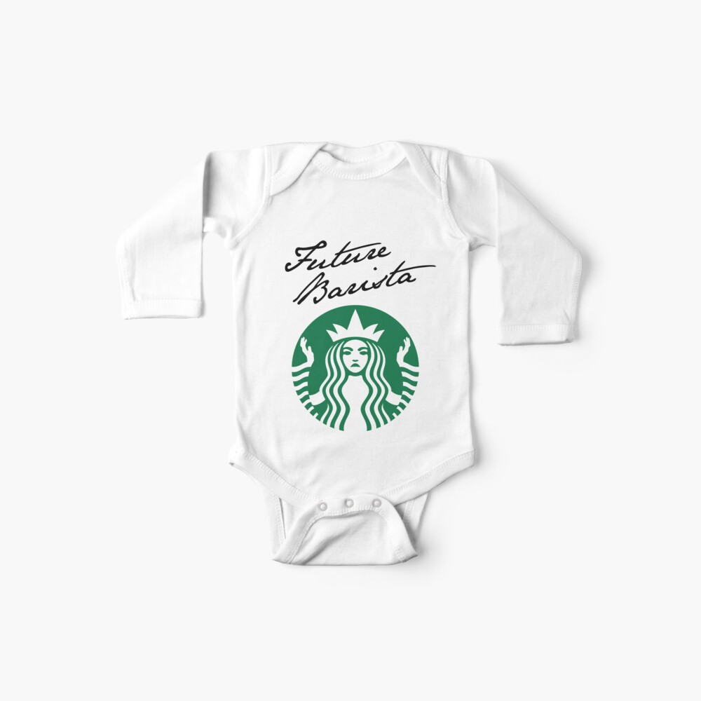 Future Barista Baby One-Piece