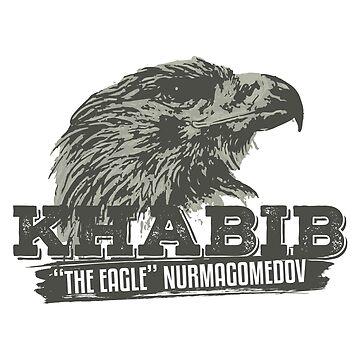 "Khabib ""The Eagle"" Nurmagomedov Dagestan by bibinik"