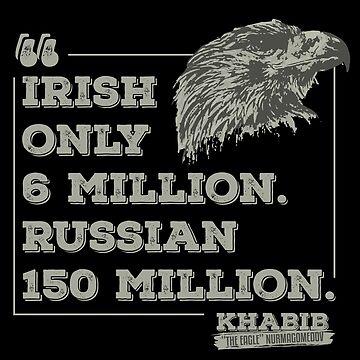 "Khabib ""The Eagle"" Nurmagomedov Russia by bibinik"