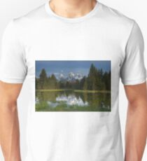 Early Light at Schwabacher Landing, Tetons T-Shirt