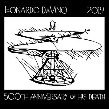 Leonardo DaVinci -- 500 year anniversary by oddmetersam