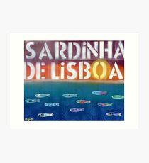 Sardinha de Lisboa Art Print