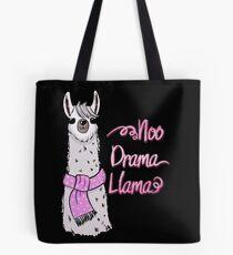 Funny Llama Cartoon Tote Bag