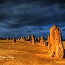 Another Planet, The Pinnacles, WA by Malcolm Katon