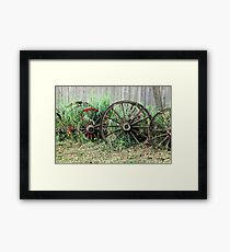 Alone in a Crowd Framed Print