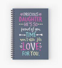 PRECIOUS DAUGHTER Spiral Notebook