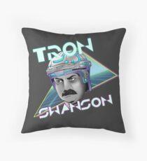 Tron Swanson Throw Pillow