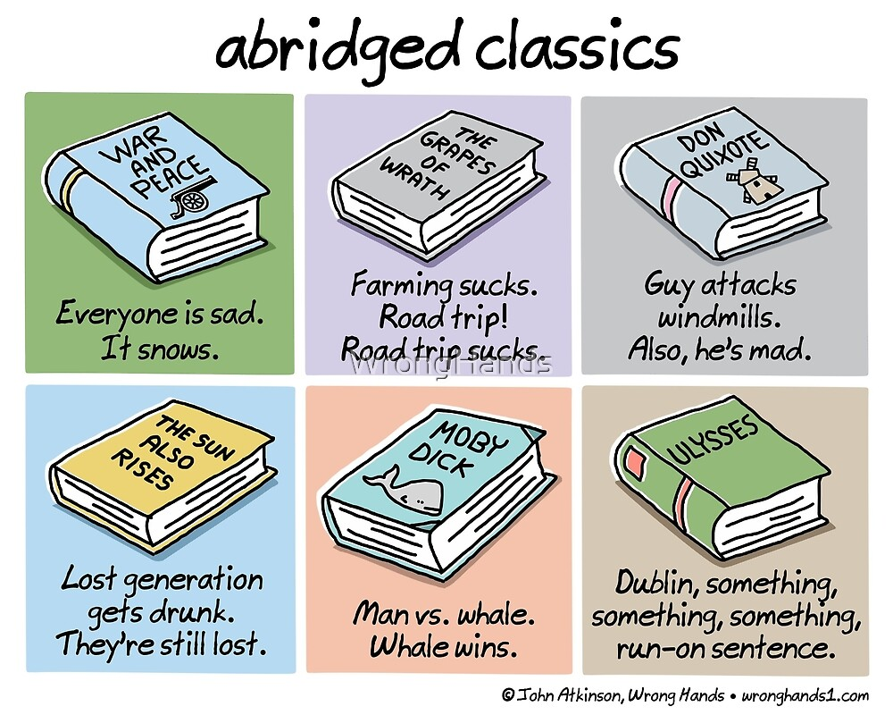 abridged classics by WrongHands