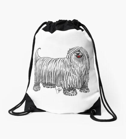 Komondor Drawstring Bag