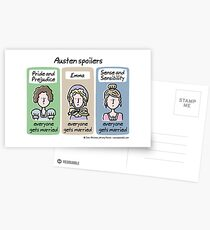 Austen spoilers Postcards